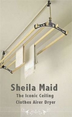 Sheila Maid® clothes airer inspiration for herb drying