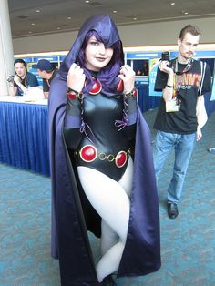 Raven     by Lbc42, via Flickr #SDCC2012  #CosplayDoneRight #Cosplay