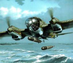 Pin by stanley phillips on fighting planes pinterest aviation heinkel he 111h 6 of kg 26 fandeluxe Gallery