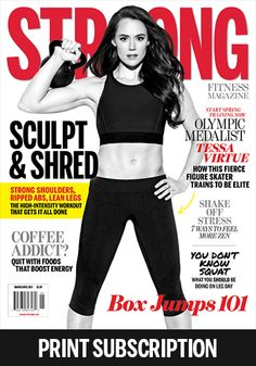 Subscription - STRONG Fitness Magazine