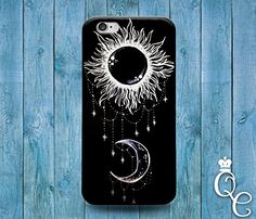 BoutiqueHouse iPhone 4 4s 5 5s 5c SE 6 6s plus  iPod Touch 4th 5th 6th Generation Cute Sun Moon Black White Jewelery Cool Cover Beautiful Fun Phone CoverSamsung Galaxy Note 2 >>> For more information, visit image link.