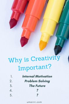 Creativity is much more important than you think. In fact, it's crucial. Creativity shapes and changes the world. Leonardo Da Vinci, Steve Jobs, Thomas Edison, Nikola Tesla, Henry Ford and other creative geniuses used their creativity to be successful and make an impact on the world. Creativity can also have a direct impact on your life including your future.  Why is Creativity Important | The Importance of Creativity | Creative Hobbies | Internal Motivation #creativity #creative