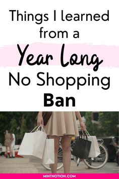 I bought no new clothing for a year. This is what I learned. Tips from a former shopaholic on how to do the no new clothing challenge. Find out how to curb impulse spending and stop buying clothes.