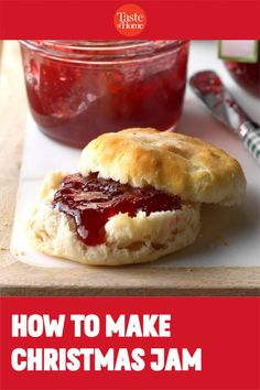 How to Make Christmas Jam Christmas Jam, Christmas Recipes, Frozen Bag, Frozen Cranberries, Star Food, Mascarpone Cheese, Jam And Jelly, My Jam, Jam Recipes