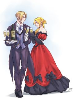 """talesofthreetowns: """" Butler Ford x Lady Nanami AU! Commissioned it from the wonderful some time ago because I believe Ford would definitely make a quality Butler material and tntdynamo's. Harvest Moon Ds, Trio Of Towns, Rune Factory 4, Persona 5, Nanami, My Favorite Part, Game Art, Really Cool Stuff, Nerd"""