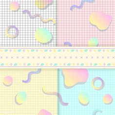 Download free vector of Pastel backgrounds for blogs vectors 512877