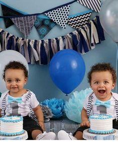 0b7677428e7b Grey Chevron with Aqua Boys First Birthday Outfit Suspenders Bow Tie – Noah's  Boytique Ball Theme