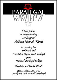 199 best graduation announcements and invitations images on inexpensive legal assistant graduation invitations with scales of justice and paralegal graduation announcements for paralegal and paraprofessional school filmwisefo