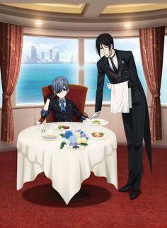 Kuroshitsuji (Black Butler) Book of Atlantic Ciel Phantomhive and Sebastian Michaelis(I can't wait!!!!)