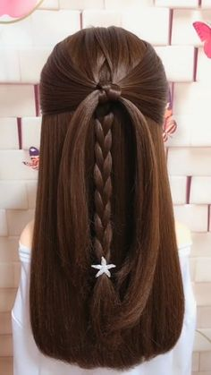 Never expected that this hairstyle would turn out so cute! Never expected that this hairstyle would turn out so cute! Easy Hairstyles For Medium Hair, Braids For Long Hair, Braided Hairstyles, Simple Hairstyle Video, Vintage Hairstyles, Simple Homecoming Hairstyles, Back To School Hairstyles Easy, Updo Hairstyles For Prom, Simple Hairstyles For Medium Hair