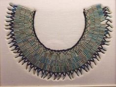 Wesekh collar Faience Middle Kingdom Egypt