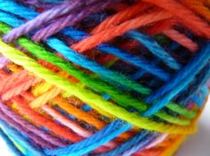 ♥FTR♥ 264 RAINBOW BALL OF YARN