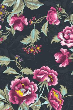 Beautiful Patterns, Home Textile, Digital Prints, Print Patterns, Interior Decorating, Wallpaper, Create, Rose, Floral