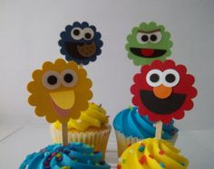 New From Your Favorite Shops by ACTreasures on Etsy  This is a fun and simple idea for a child's birthday.  My daughter's second birthday was Sesame Street themed.  Her favorites were Bert and Ernie. She even named her dog after Ernie!