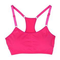 New fashion Female sports underwear padded strength solid running spandex cotton Bra