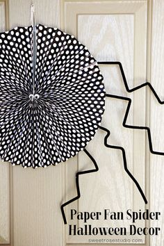 Paper Fan Spider Hal