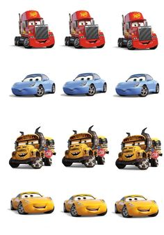 Musings of an Average Mom: Cars 3 Cupcake Toppers Disney Cars Party, Disney Cars Birthday, Disney Pixar Cars, Car Themed Parties, Cars Birthday Parties, Birthday Fun, Retirement Parties, Birthday Ideas, Car Themes