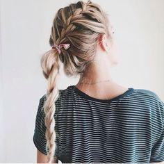 sporty braid