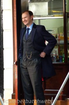 Alright I admit it... I'm a little bit in love with Mark Gatiss...