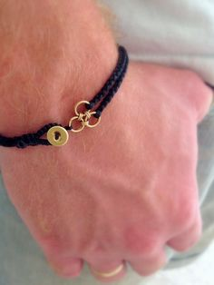 Black braided bracelet . Black mens bracelet . Men black bracelet. Mens bracelet. Christmas gift for him. https://etsy.me/2GZkPXm #jewelry #bracelet #black #christmas #giftforhim #mensjewelry #braidedmenbracelet #g