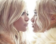 Olsen Twins - love this photograph, such gorgeous light.