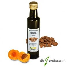 Bio Aprikosenkernöl aus bitteren Aprikosenkernen, 250ml Whiskey Bottle, Drinks, Food, Vitamins, Drinking, Beverages, Eten, Drink, Meals
