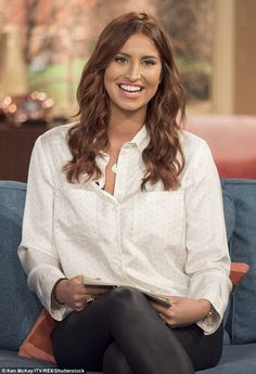 Praised: Ferne McCann made a great impression as she took to the This Morning sofa for her...