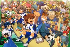 Inazuma Eleven. Love it so much. My childhood anime. You may say it's childish, but it was so inspiring especially for kids.