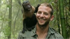 squirrel monkey on shoulder - Google Search