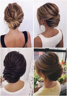 Stunning Wedding Hairstyles from - Forevermorebling Hairstyle Ideas, Style Hairstyle, Hair Ideas, Chignon Wedding, Hair Wedding, Latest Hairstyles, Wedding Hairstyles, Low Chignon, Bridal Hair Inspiration