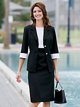 Sophisticated Jacket Dress | Willow Ridge