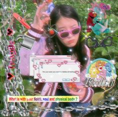 cybergoth jieun/iu edit ㅡ 🍒 on We Heart It Kpop Aesthetic, Pink Aesthetic, Sup Girl, Twitter Layouts, Cybergoth, I Love Girls, Indie Kids, Cute Icons, Kpop Girl Groups