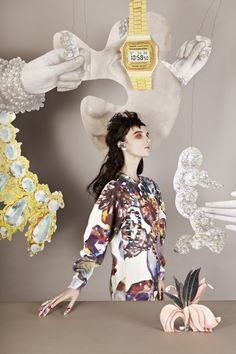 Masha Reva X Syndicate of Kiev Odessa Series: Jewels, Starbucks, and Kitsch Fashion Art, Editorial Fashion, Fashion Design, Fashion Shoot, Kitsch, Central Saint Martins, Young Designers, Fashion Photography, Portrait Photography
