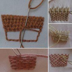@Embroidery_prin #❤️نکات_آموزشی_گلدوزی #needlework #crossstitch #embroidery