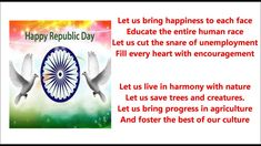 26 January 2017 Poems 68th India Republic Day Patriotic Poems in English Hindi
