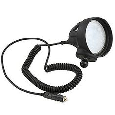 The RAM LED Spotlight has an integrated LED bulb that yields a bright and efficient light that enables you to add safety and lower power draw to your ATV, boat or vehicle. Body Powder, Kayaking, Spotlight, Bulb, Led, Boating, Kayaks, Ships, Onions