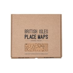 Jolly Smith British and Irish Isles Place Maps: A starter in St Ives, main course in Margate or a dessert in Dundee perhaps?  This British and Irish Isles Place Map Set is designed with Leo Smith and John Green for Jolly Smith.  This fun new product will do more than strike up a conversation at the dinner table. The screen printed cork elegantly displays towns and cities and their boundaries right across the Isles from Dover to Aberdeen to Dingle.  The British Isles Place Maps, destination…