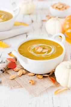 Curry Pumpkin Soup - Simple, healthy and delicious!