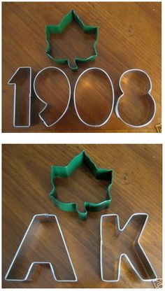 AKA cookie cutters...I have the ivy, just need the others.