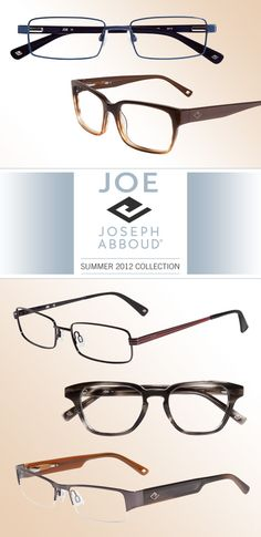 Add spexy charm with JOE Joseph Abboud frames