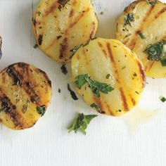 Grilled Herb Potatoes Recipe - Epicurious & ZipList