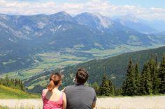 Austria mountain views