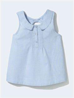 Vineyard Vines Sleeveless Top (Toddler G - Diy Crafts - Qoster Blouse Styles, Blouse Designs, Little Girl Fashion, Kids Fashion, Little Girl Dresses, Girls Dresses, Frocks For Girls, Baby Dress, Kids Outfits