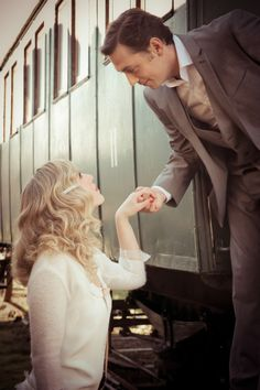 Vintage Water for Elephants inspired wedding shoot Simplon Orient Express, Water For Elephants, French Wedding Style, Journey, Elephant Wedding, Train Rides, Vintage Glamour, Train Travel, Wedding Shoot