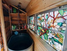 Easy privacy - peel and stick window crap Bus Life, Camper Life, Camper Van, Bus Living, Tiny House Living, Casas Trailer, Bus Remodel, School Bus Tiny House, Converted Bus