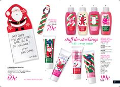 Stuff your stocking with Avon.....  https://lyndafischer.avonrepresentative.com/