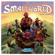 """Small World - Newest game in the Geekster family. Will be attempting to conquer this """"Small World"""" soon. Fun Board Games, Games To Play, Fun Games, Awesome Games, Playing Games, Small World Board Game, Board Game Design, World Play, Family Boards"""