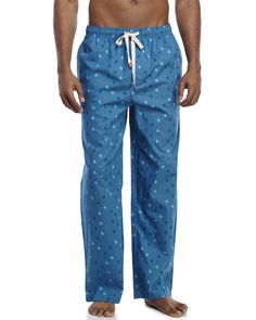 Original Penguin Logo Print Lounge Pants