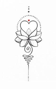 tattoo heart design / tattoo heart _ tattoo heartbeat _ tattoo heart small _ tattoo heart anatomical _ tattoo heart old school _ tattoo heart flower _ tattoo heart design _ tattoo heart broken Dotwork Tattoo Mandala, Unalome Tattoo, Lotus Tattoo, Hand Tattoo, Mini Tattoos, Flower Tattoos, Body Art Tattoos, Small Tattoos, Sleeve Tattoos