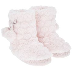 Accessorize Super Soft Slipper Boot ($20) ❤ liked on Polyvore featuring shoes and slippers